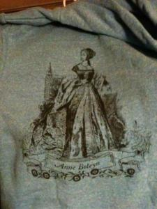 Anne Boleyn hoodie from tartx on Etsy